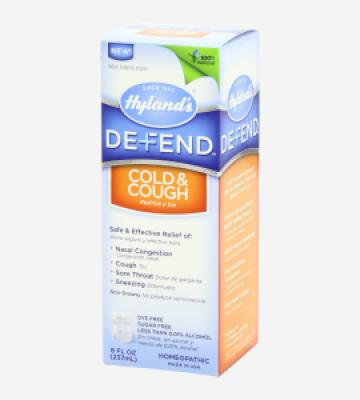 HYLAND'S DEFEND COUGH AND COLD 11